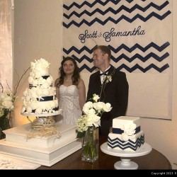 Behrman Summer Wedding - Wedding Cake and Decorations