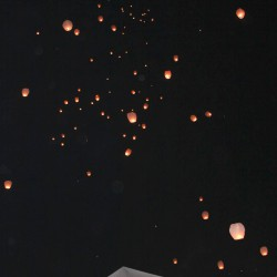 Henry Wedding - Sky Lantern Lighting