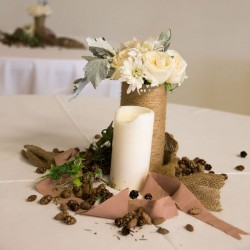 Leaman/Eldeen Wedding - Table Decorations - Remnant Fellowship
