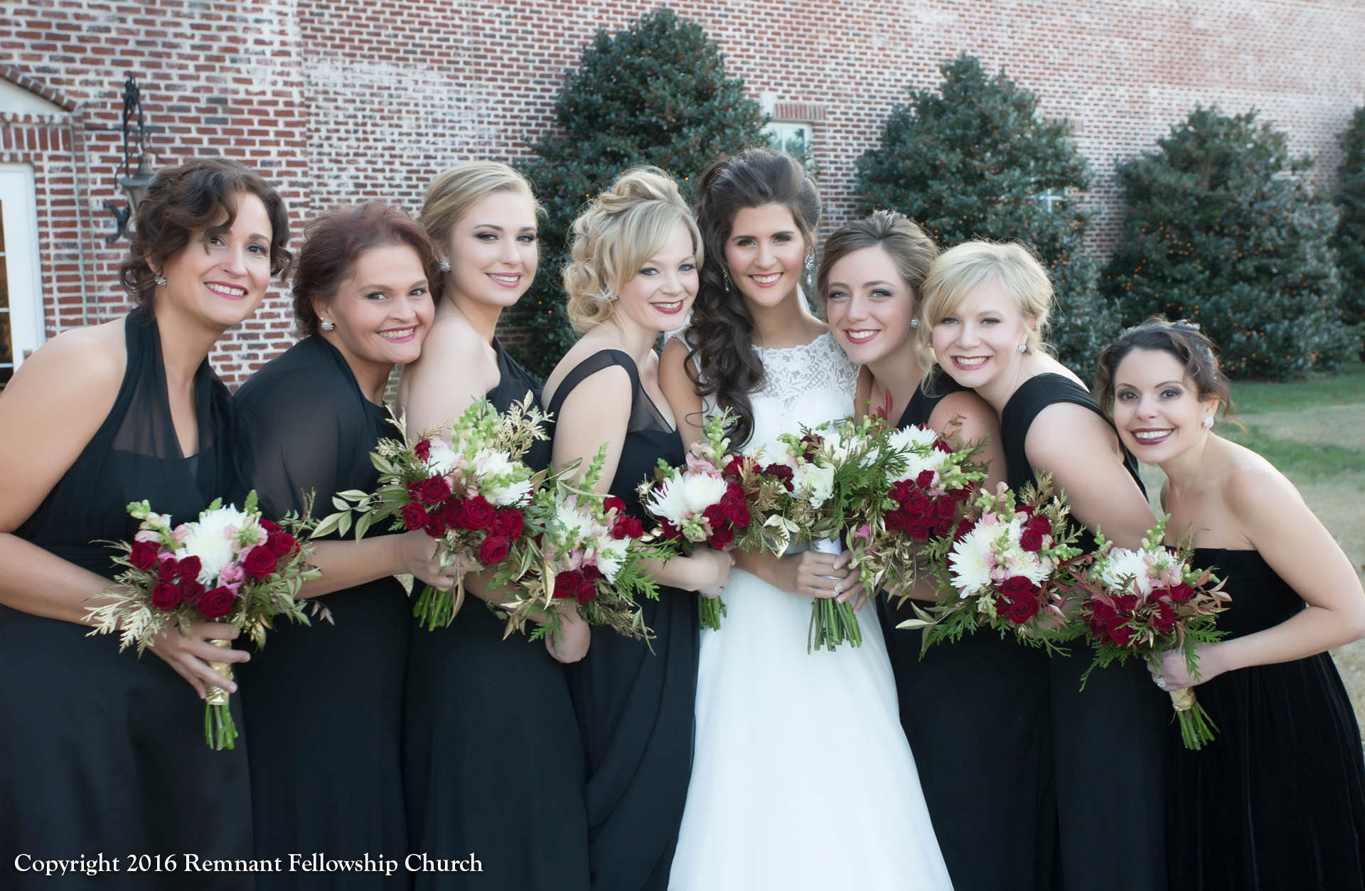newdayIMG_4689-Remnant-Fellowship-Hagans-Wedding-Bride-PhotoShoot-Outside-Church-Brides-Maids2