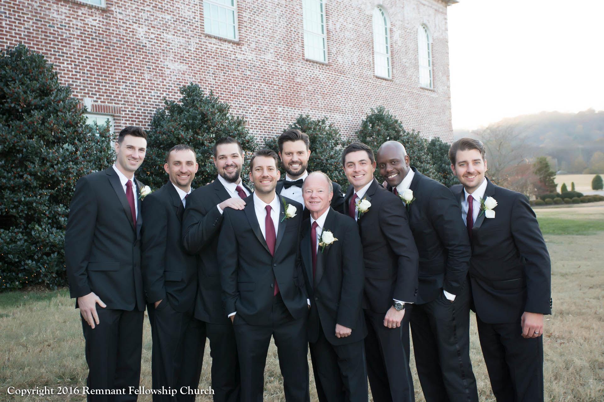 Groomsmen - Remnant Fellowship Weddings