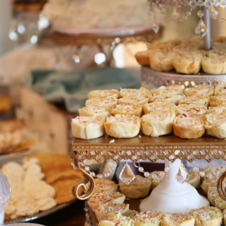 Spring Reception Food   Dessert Table