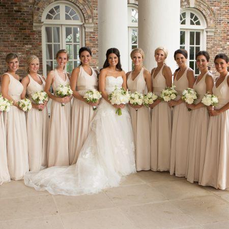 Bridal party pre wedding