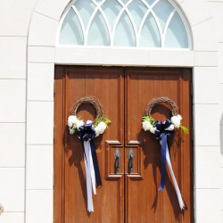 Behrman Summer Wedding - Front Decorations