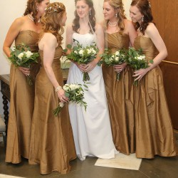 Parsons Summer Wedding - Bride with Bridesmaids