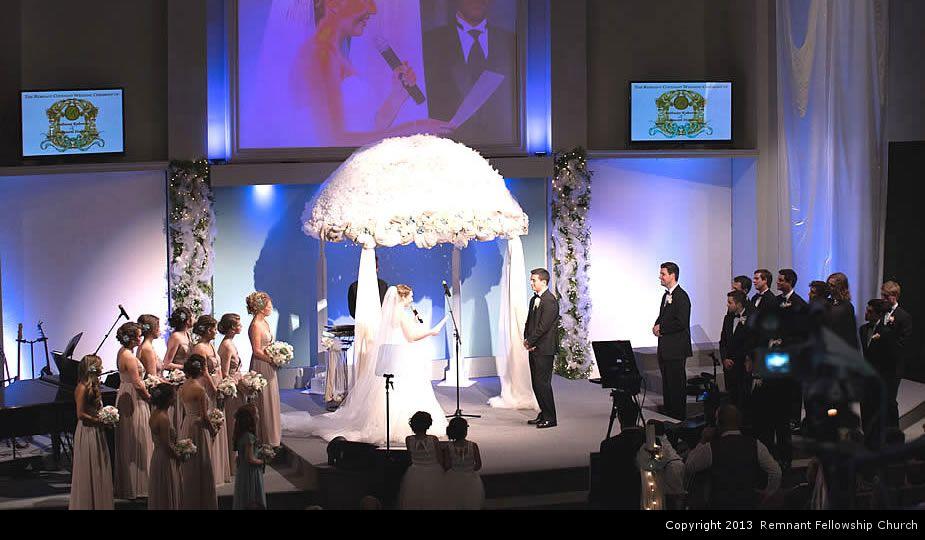 Ruberto Wedding - Ceremony - Remnant Fellowship