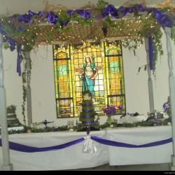 Gentry Wedding - Cake Table