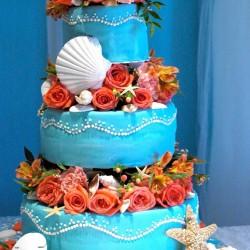 Hagans/MacPherson Wedding - Cake