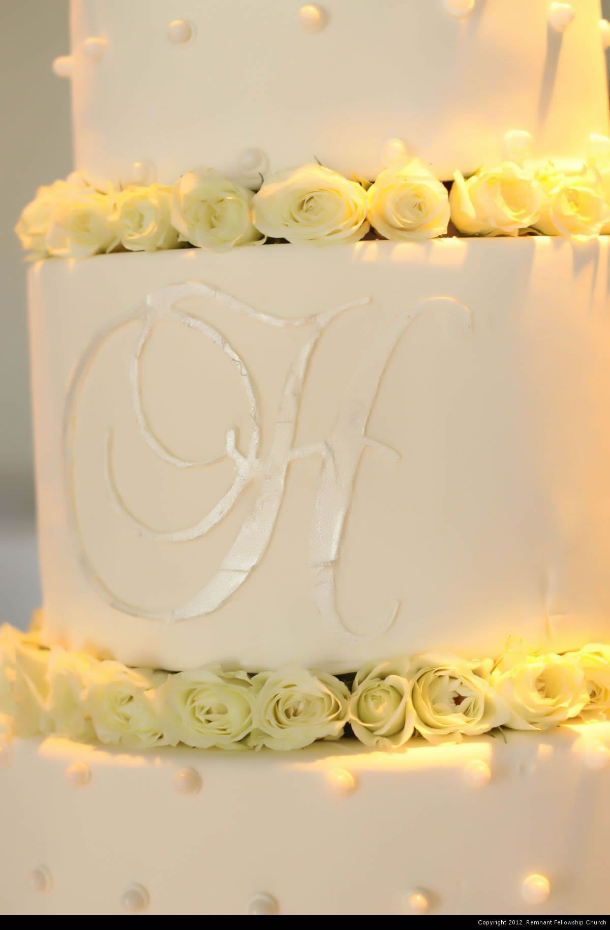 Homonnay Wedding - Wedding Cake