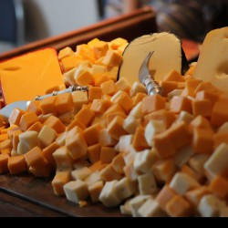 Homonnay Wedding - Cheese Table