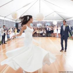 Summer Wedding Dress | Minimalist Trumpet Style Wedding Dress with Scoop Back