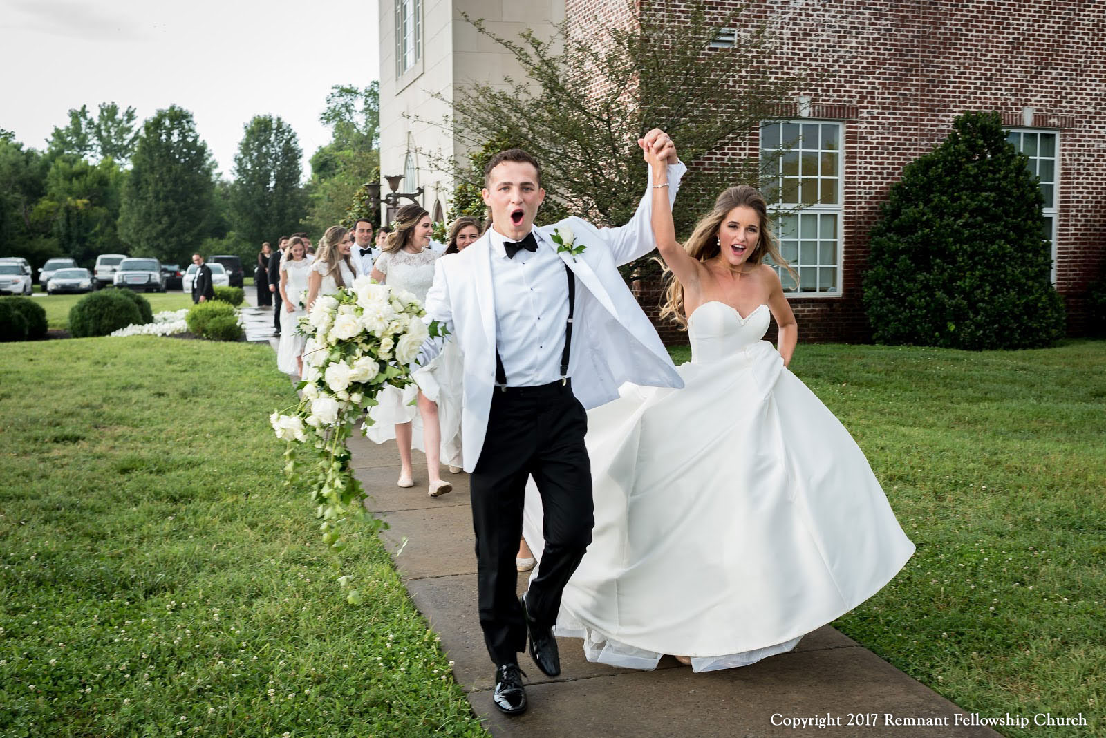 Remnant-Fellowship-Hamilton-Gormsen-Covenant-Wedding-Bride-and-Groom-Departure-01