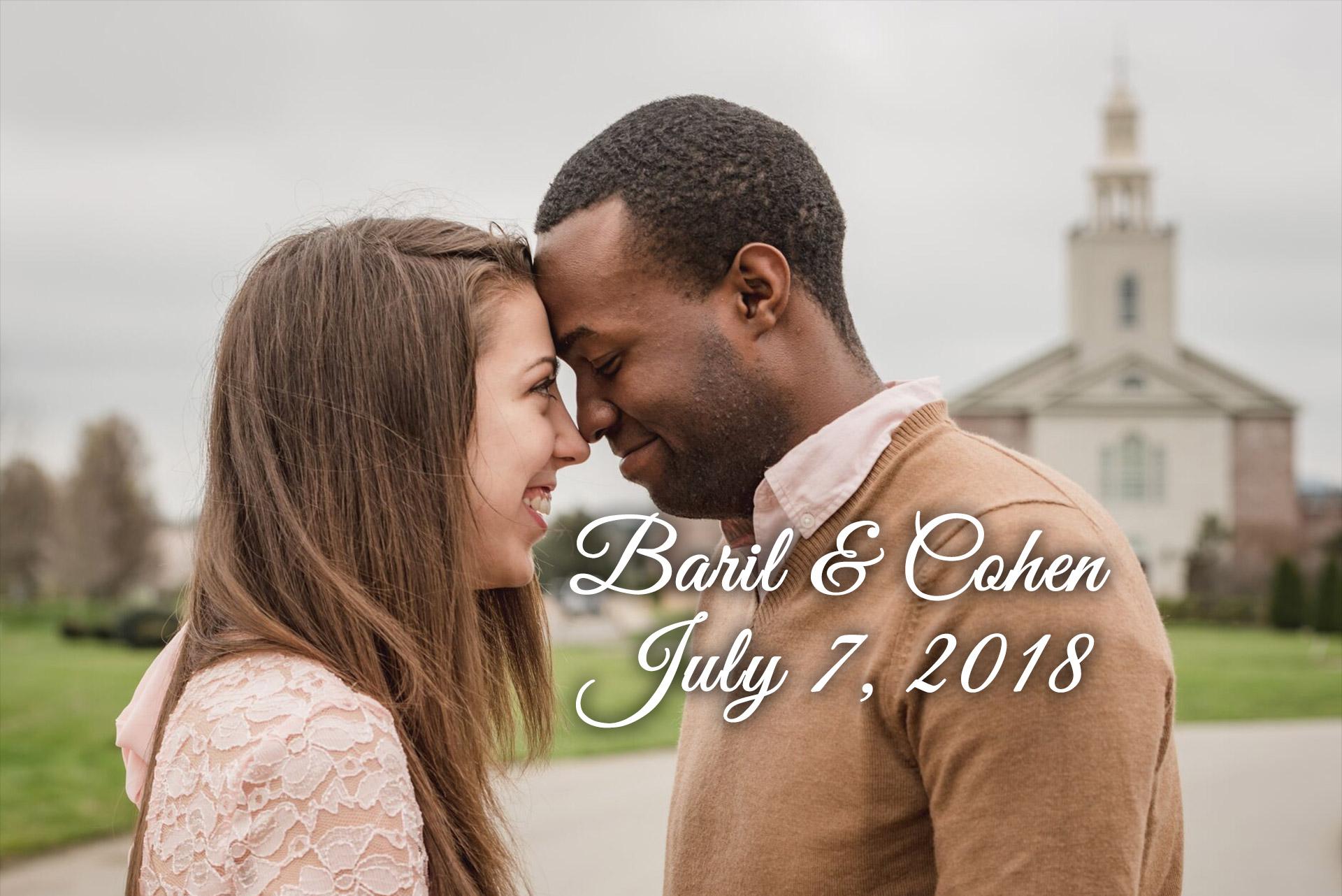 Baril-Cohen Remnant Fellowship Wedding