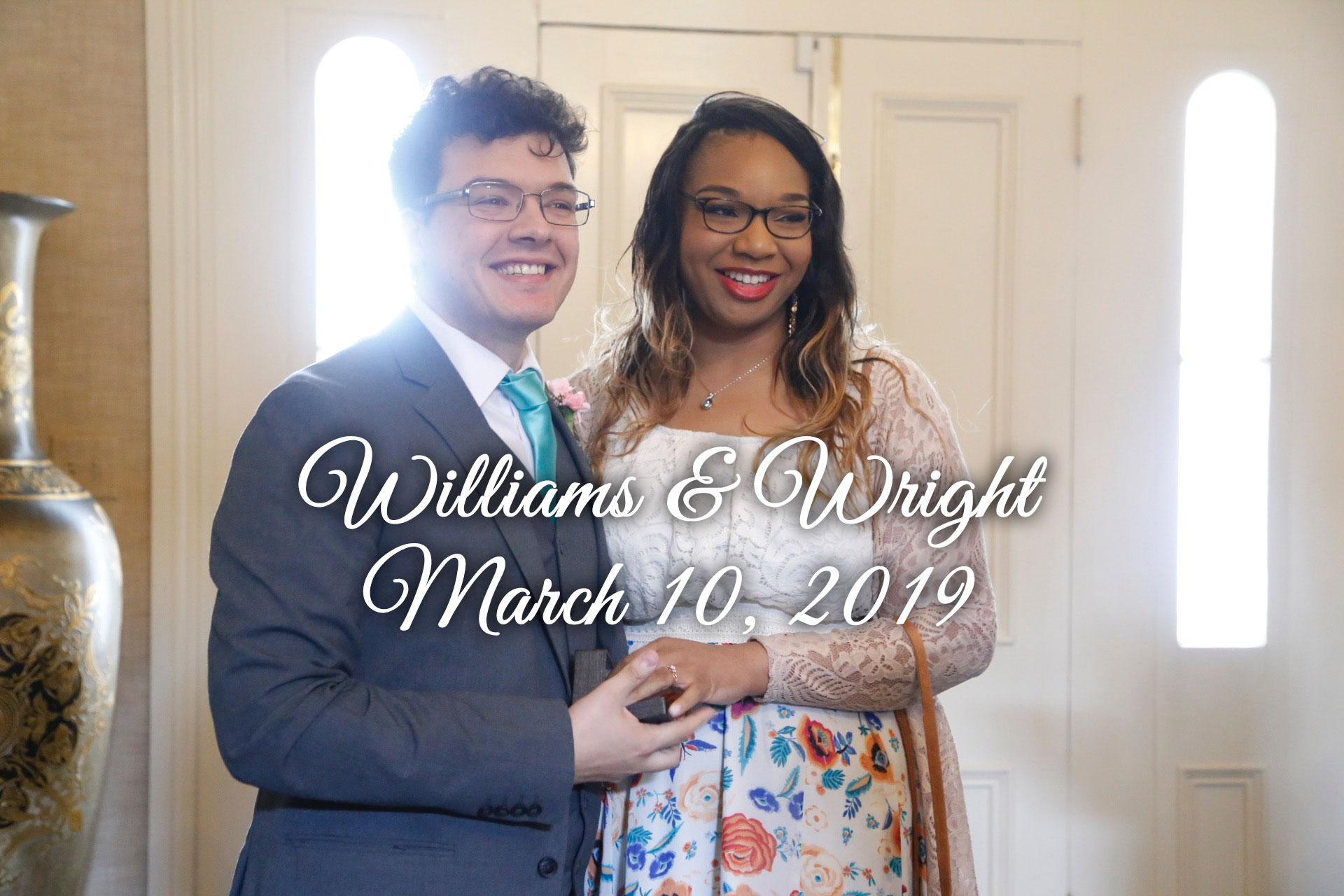 Williams-Wright Remnant Fellowship Wedding