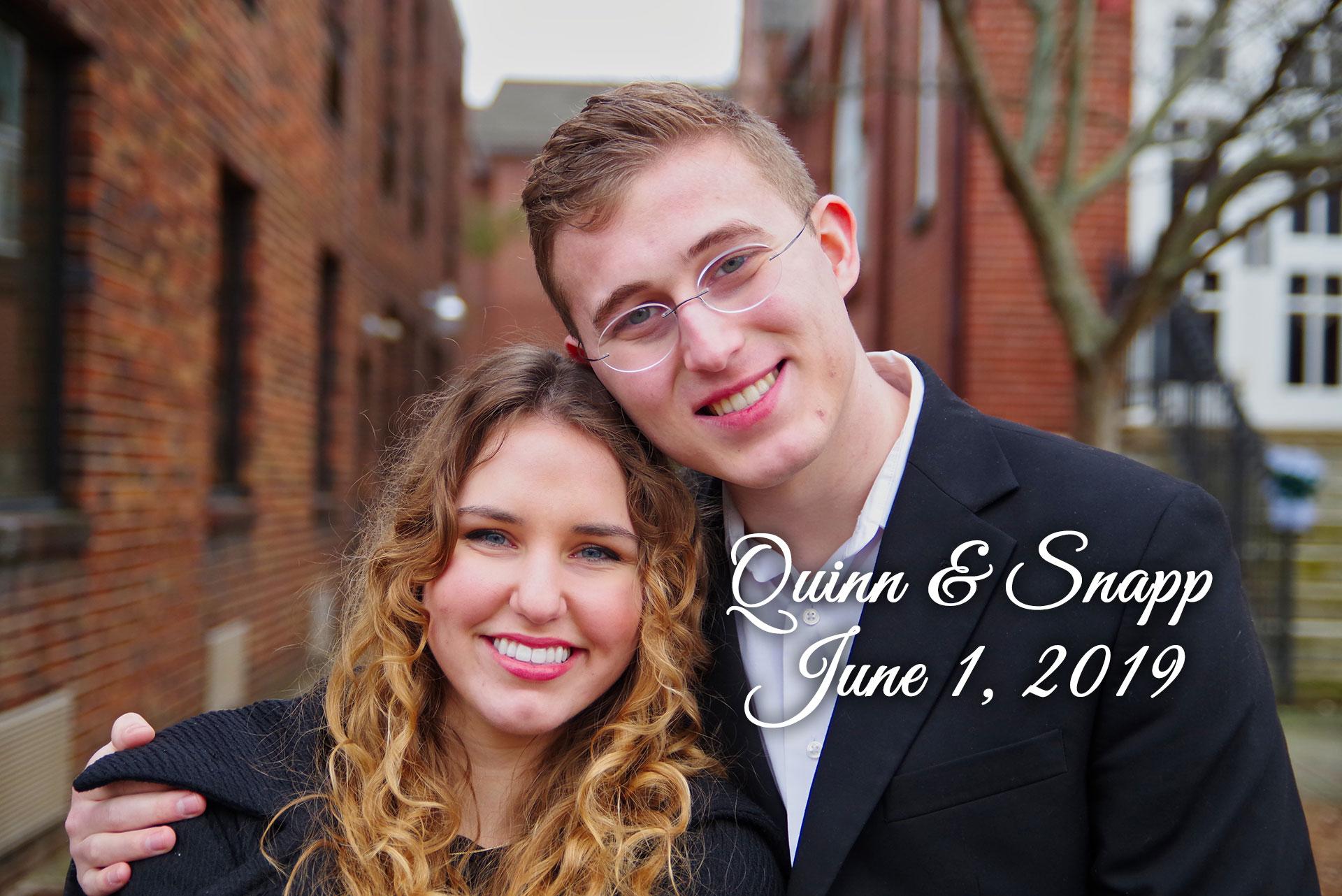 Quinn-Snapp Remnant Fellowship Wedding