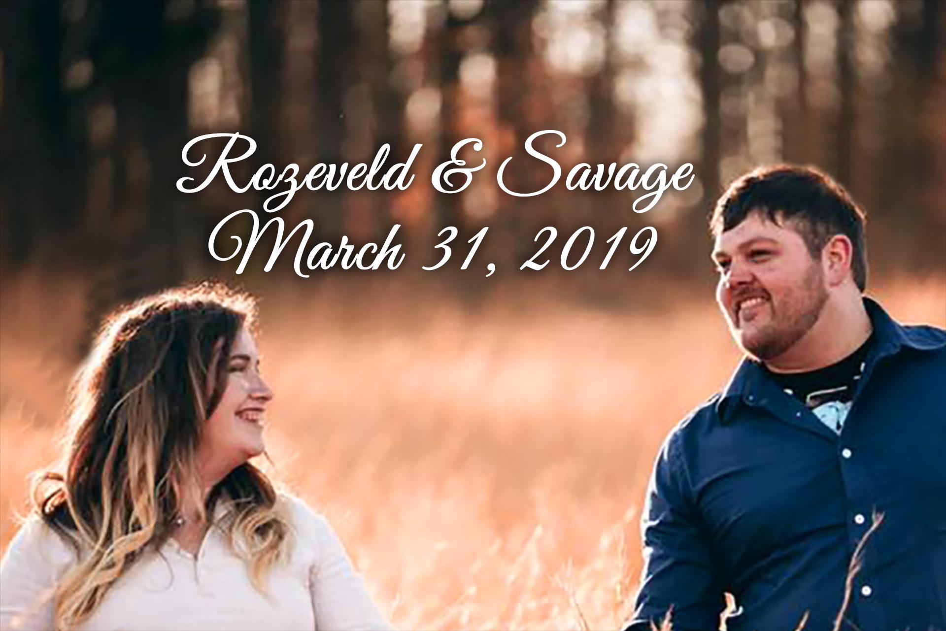 Rozeveld-Savage Remnant Fellowship Wedding